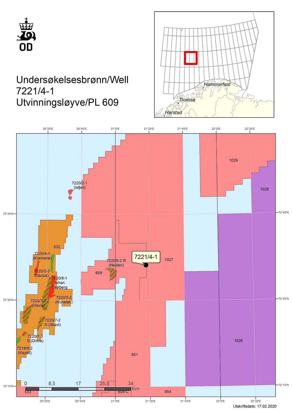 Lundin Energy Dry Well East of Johan Castberg in the Barents Sea