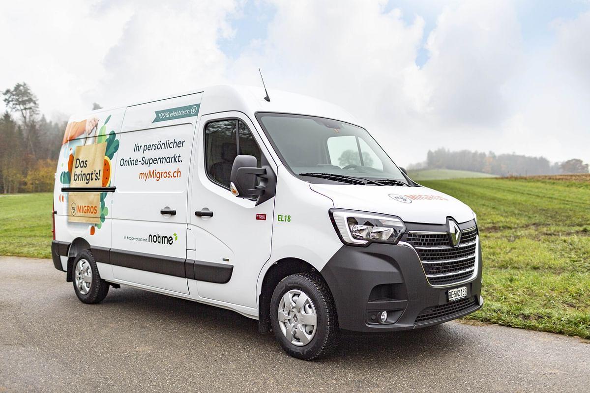 25 Renault Trucks Master ZE for Migros Aare in Switzerland