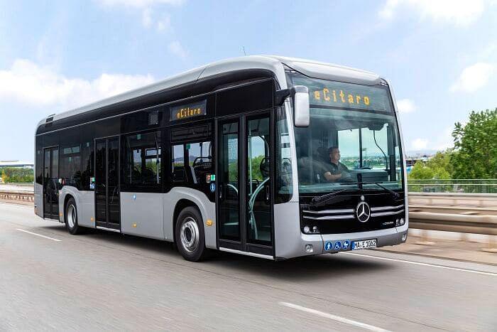 Bremen StraBenbahn Orders 5 Mercedes Benz eCitaro Buses