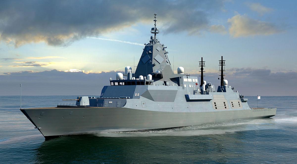 Bluescope Steel for Hunter Class Frigates for Australian Navy