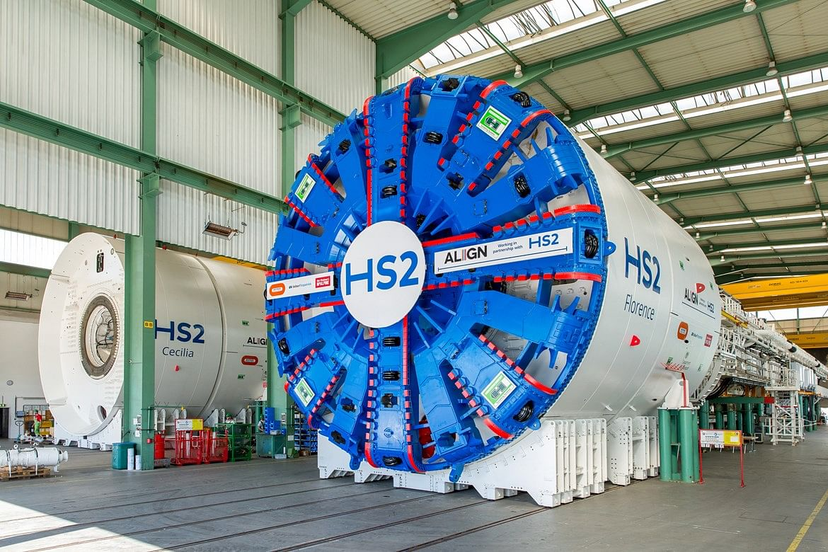 Align JV Takes Delivery of HS2 Giant Tunnelling Machines