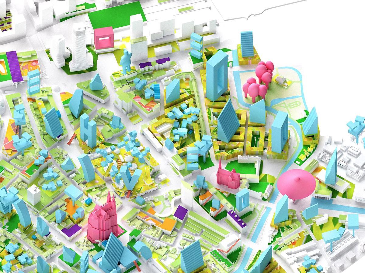 MVRDV Densification Plan for Eindhoven City Centre