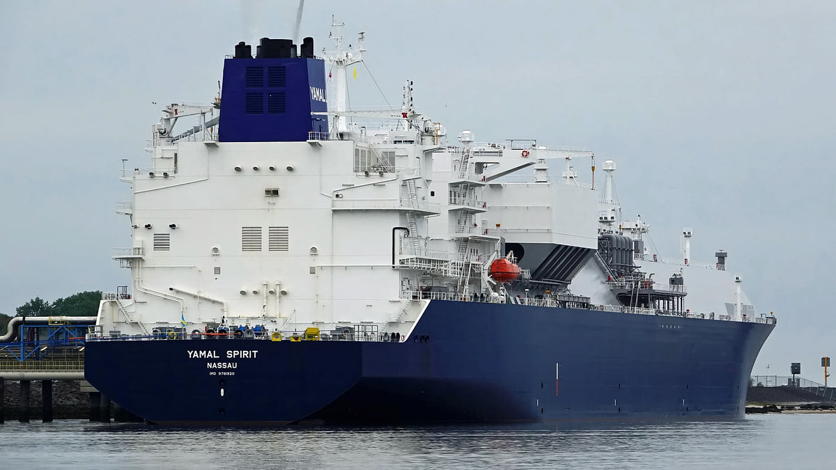 NOVATEK Ship to Ship LNG Transshipment in Murmansk Region