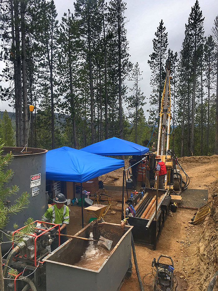 Revival Gold Update on Beartrack Arnett Drilling