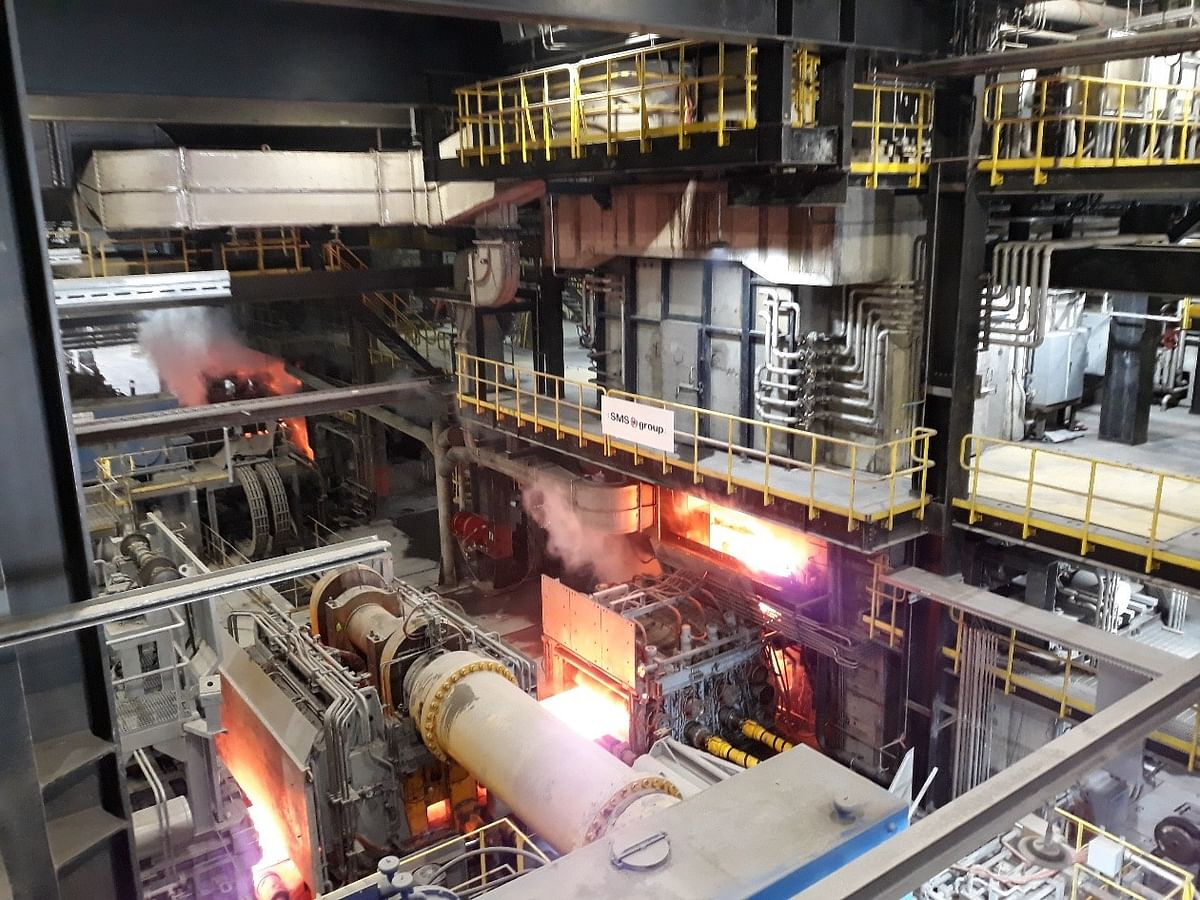 Big River Steel Commissions Expansion of Steel Mill