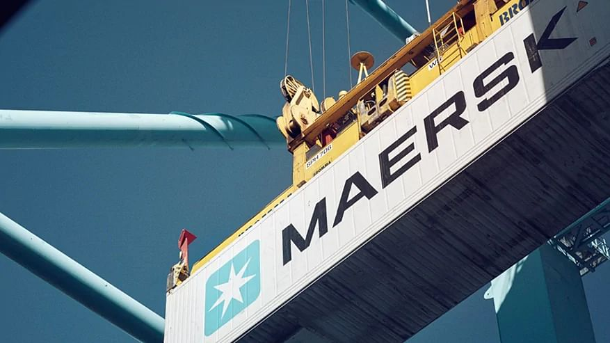 AP Moller Maersk to Dhift Vessel to Terminal in Kalundborg