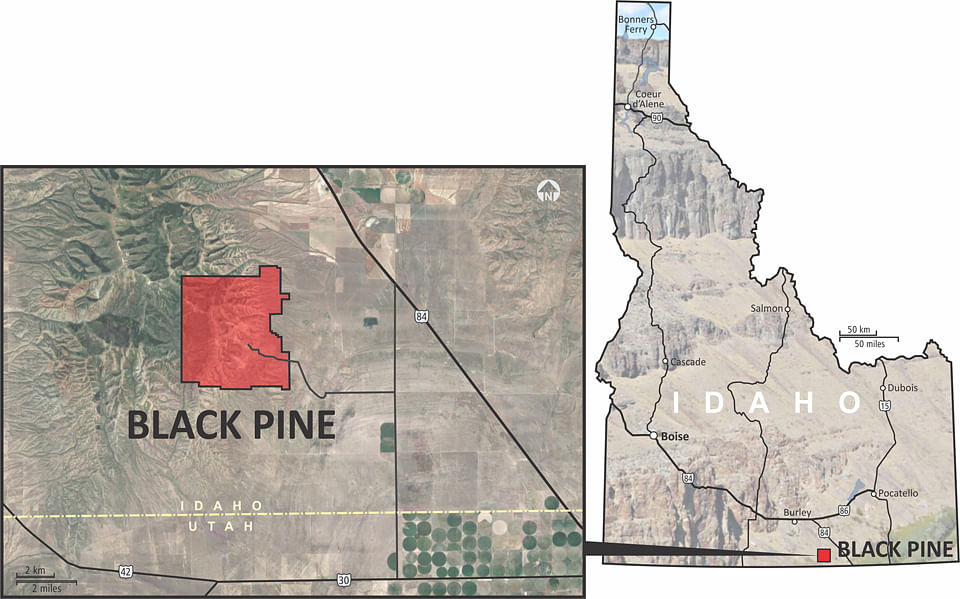 Liberty Gold Drill Results for Black Pine in Idaho