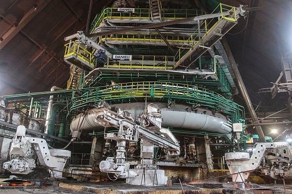 Metalloinvest Modernized Blast Furnace No 2 at Ural Steel