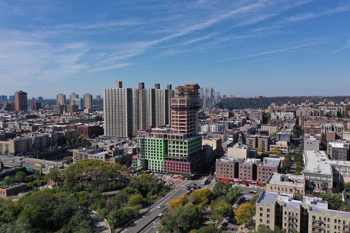 MVRDV Tops Out Radio Tower & Hotel in Manhattan