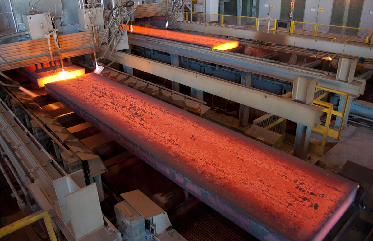 US Steel Production Capacity Utilization in Week 48 Stays at 70%