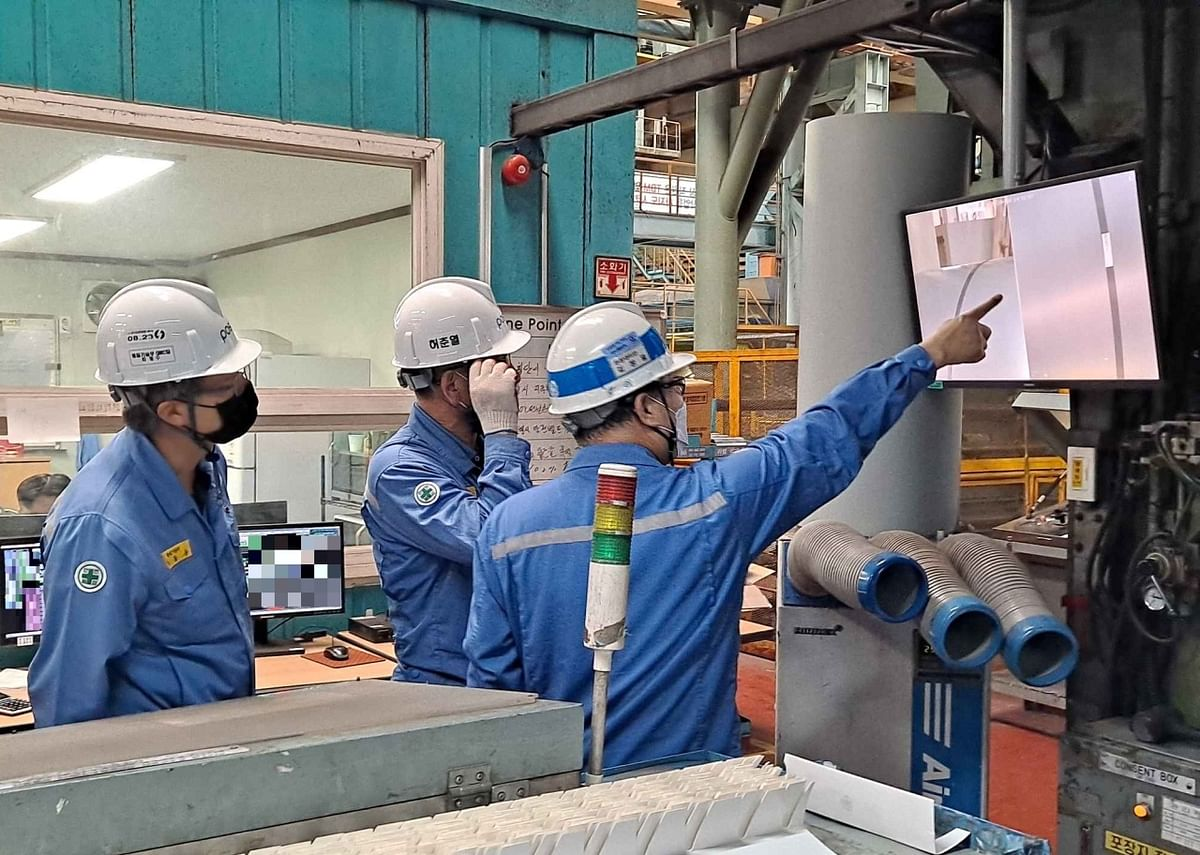 Posco Implementing Smart Technologies to Make Steel Plants Safer