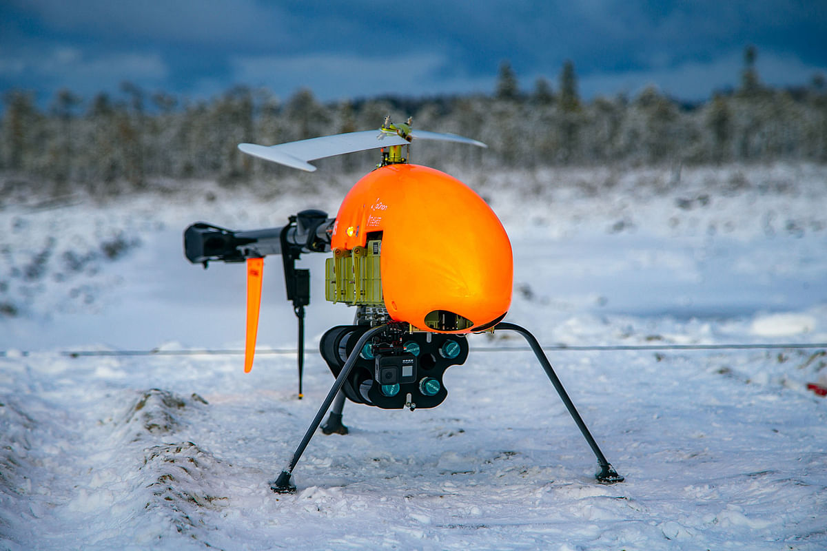 Drone Oil Sample Deliveries Tested at Gazprom Neft