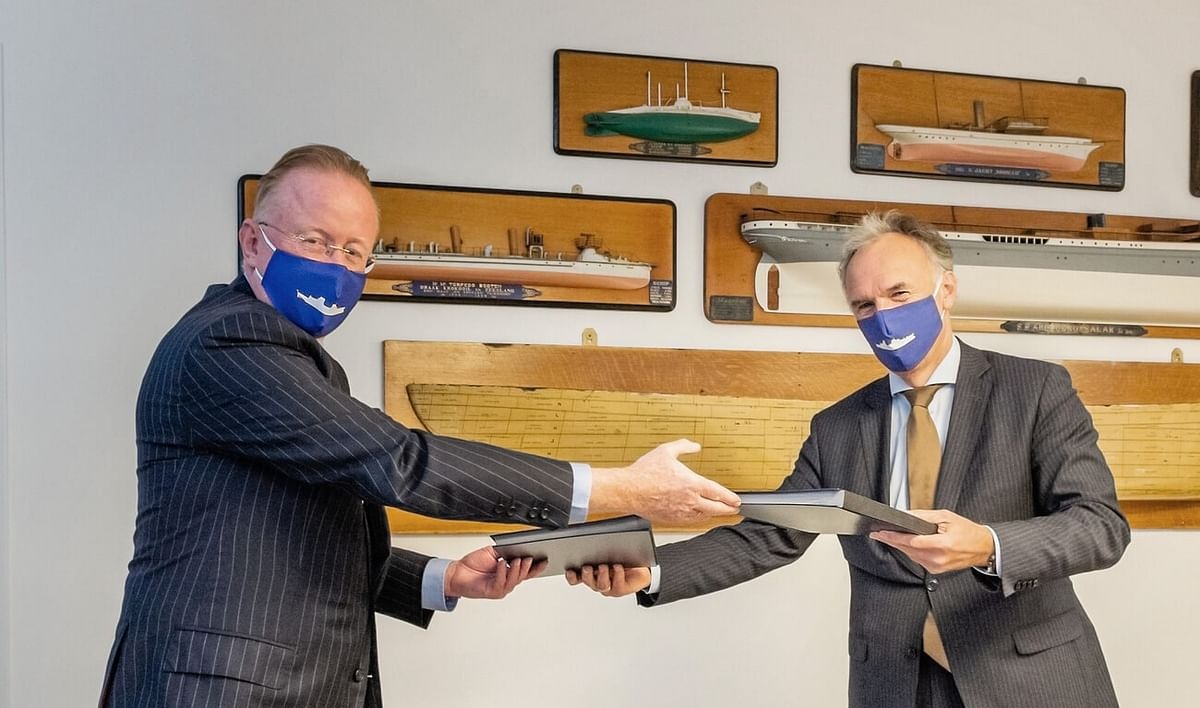 Damen Bags Contract for German Navy's MKS180 Frigates