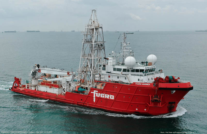 NYK & Fugro MoU for Geotechnical Investigation Vessel Business