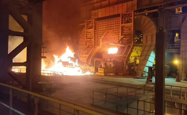 Molten Metal Spill in SMS II of RINL VSP Injures Workers
