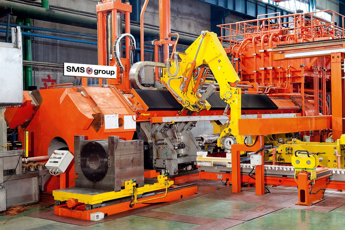 Handong Weiqiao Orders Extrusion & Tube Press from SMS Group