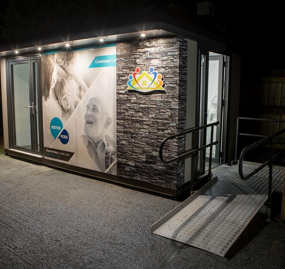 Tata Steel UK Steel Used in VisitorPod for Care Homes
