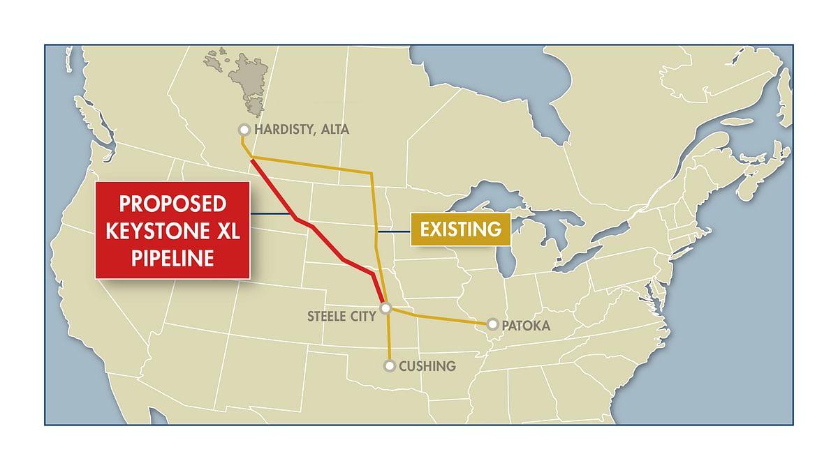 US President Mr Biden to Overturn Keystone XL Pipe Line Permit
