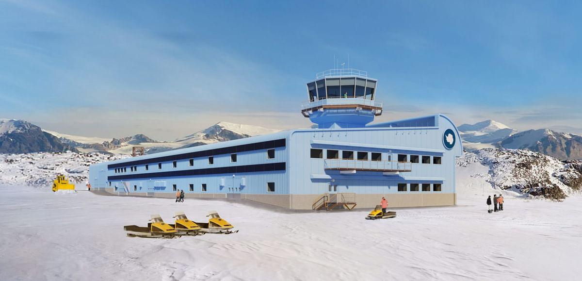 Construction Starts at Antarctic Research Hub of BAS