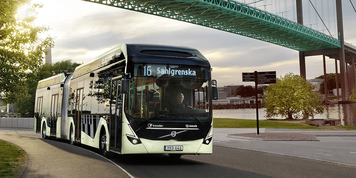 Volvo Electric Buses in Sweden