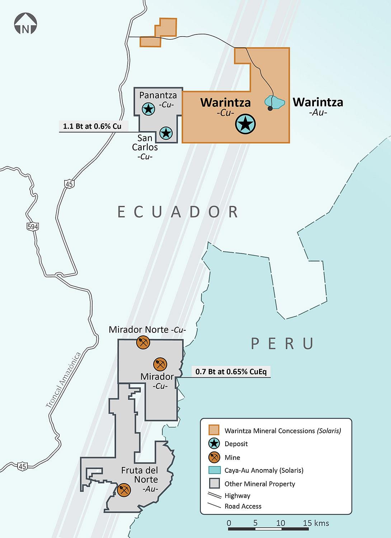 Solaris Resources Drilling Update on Warintza Project in Ecuador