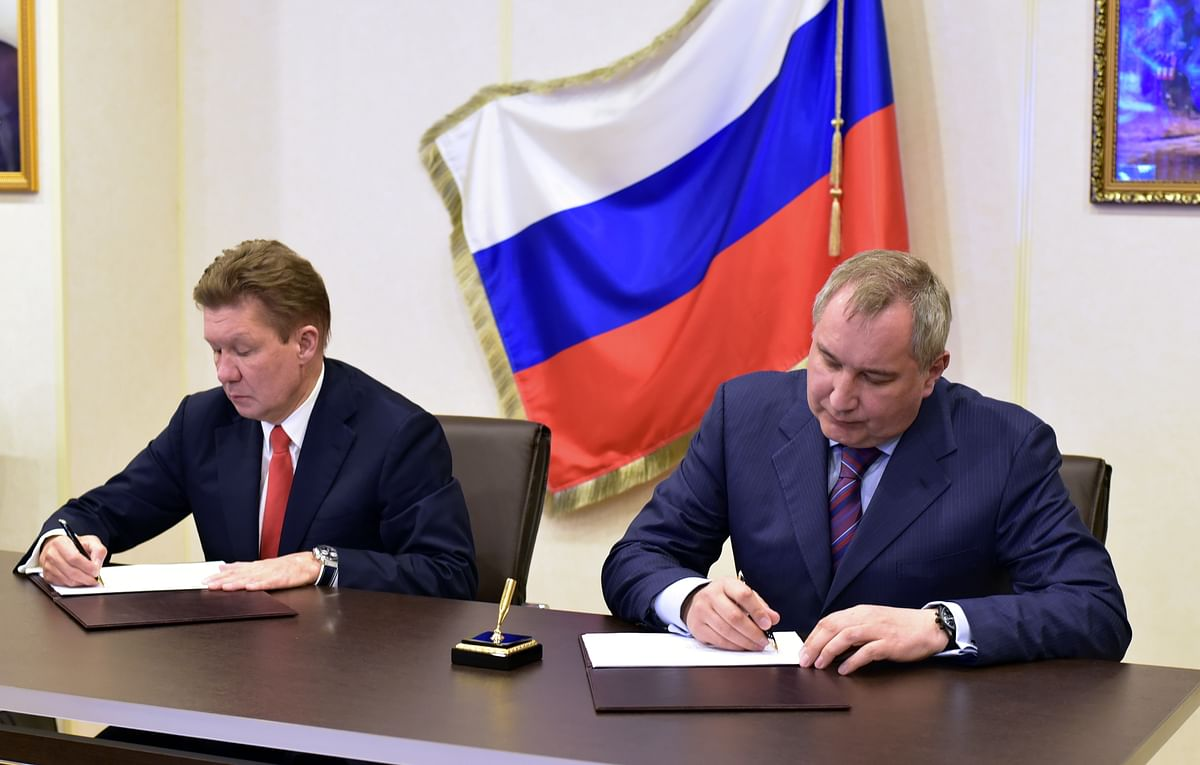 Gazprom & Roscosmos Expanding Cooperation in Satellite Systems