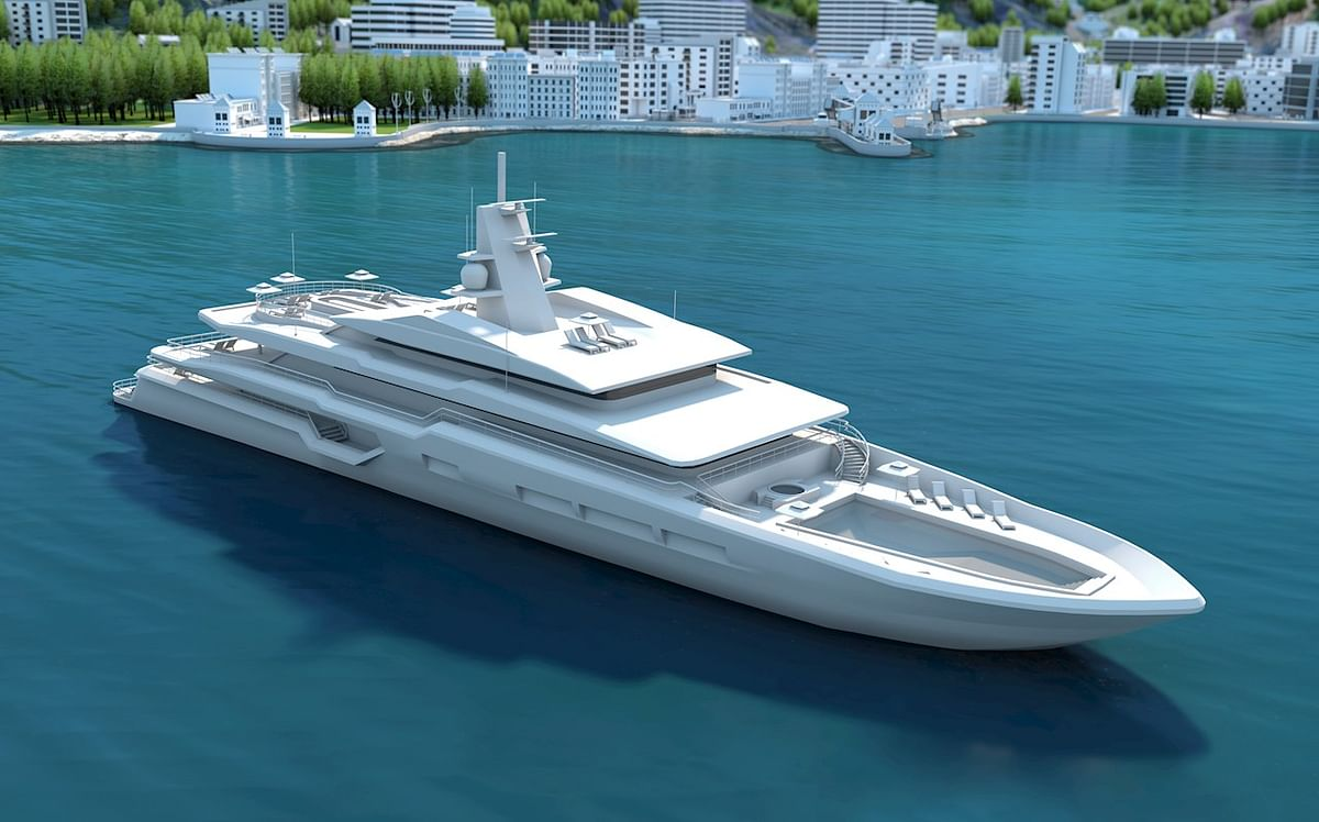 ABB Azipod Electric Propulsion for Eco Friendly Superyacht