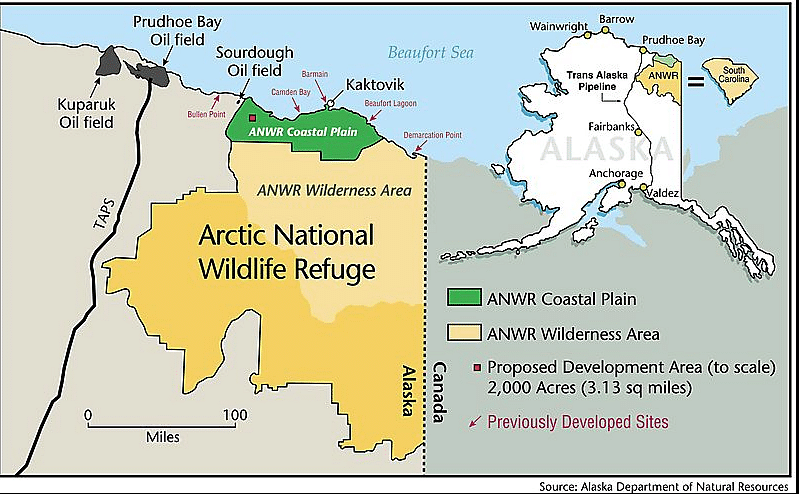 Arctic Refuge Drilling Auction Attracts Tepid Response