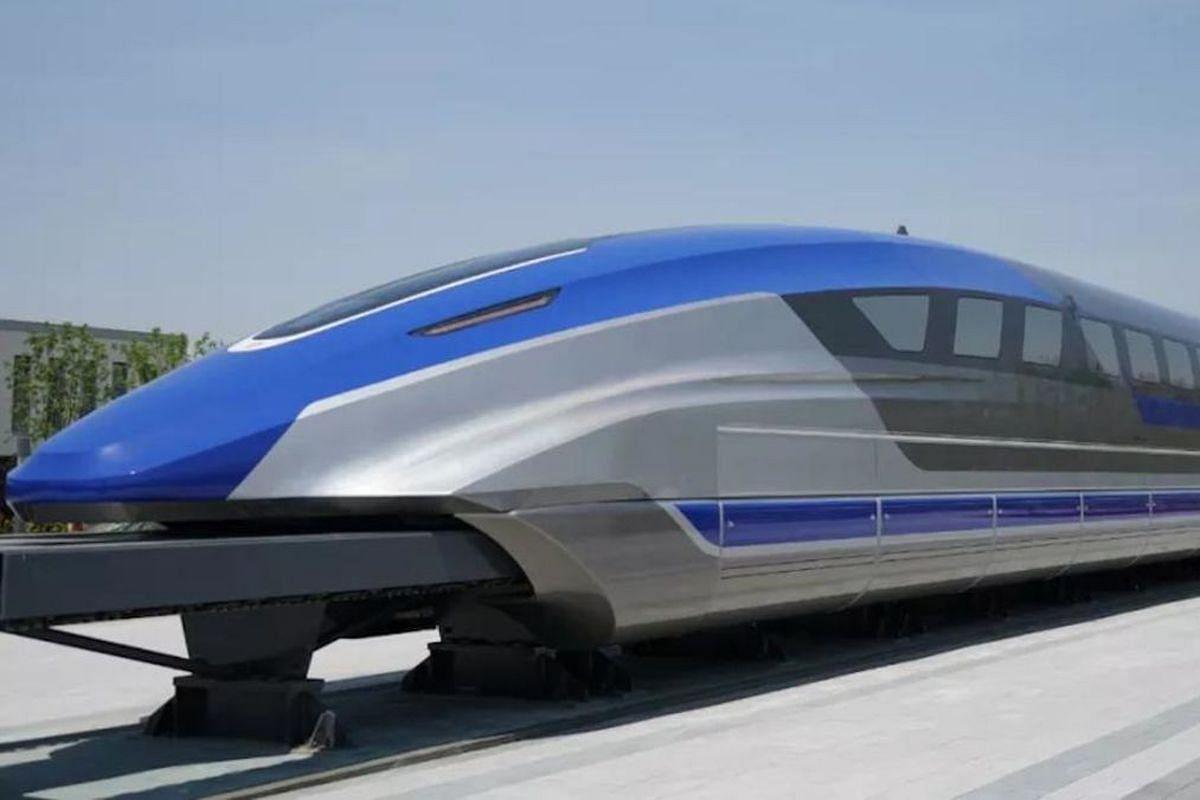 Superfast Maglev Train