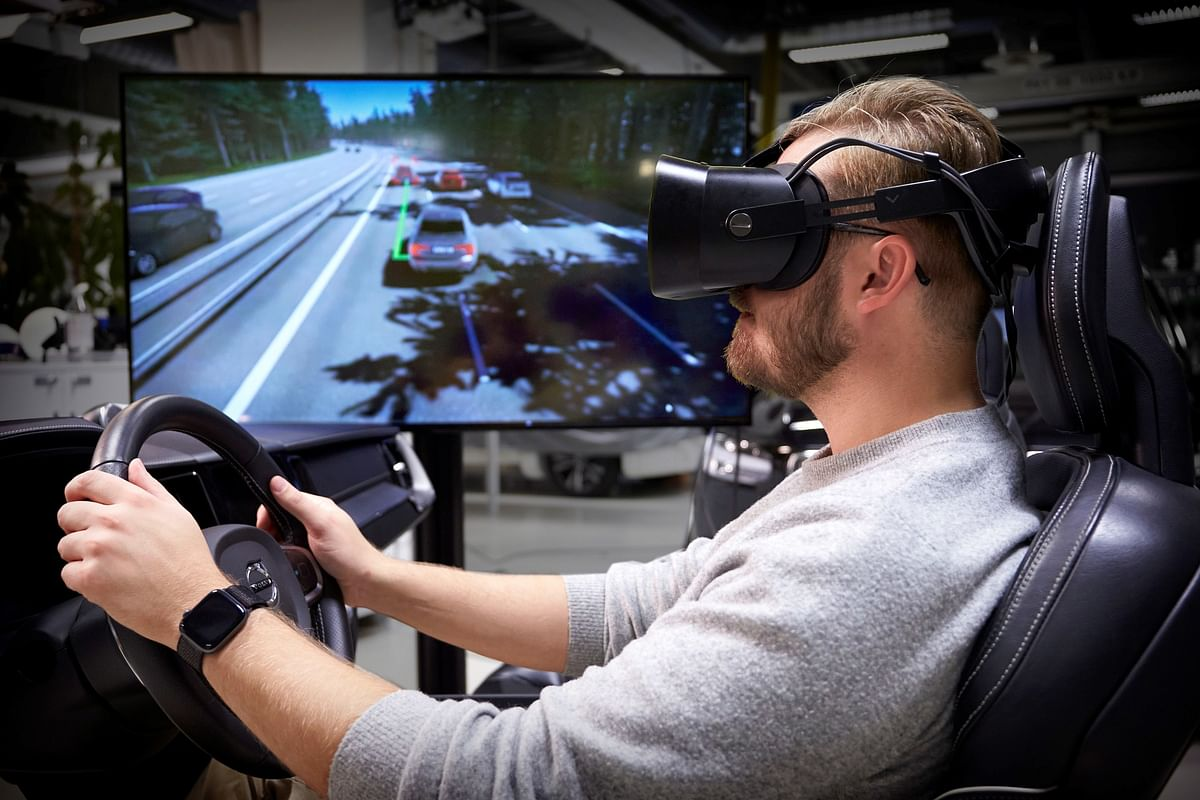 Volvo Cars Driving Simulator for Safer Cars