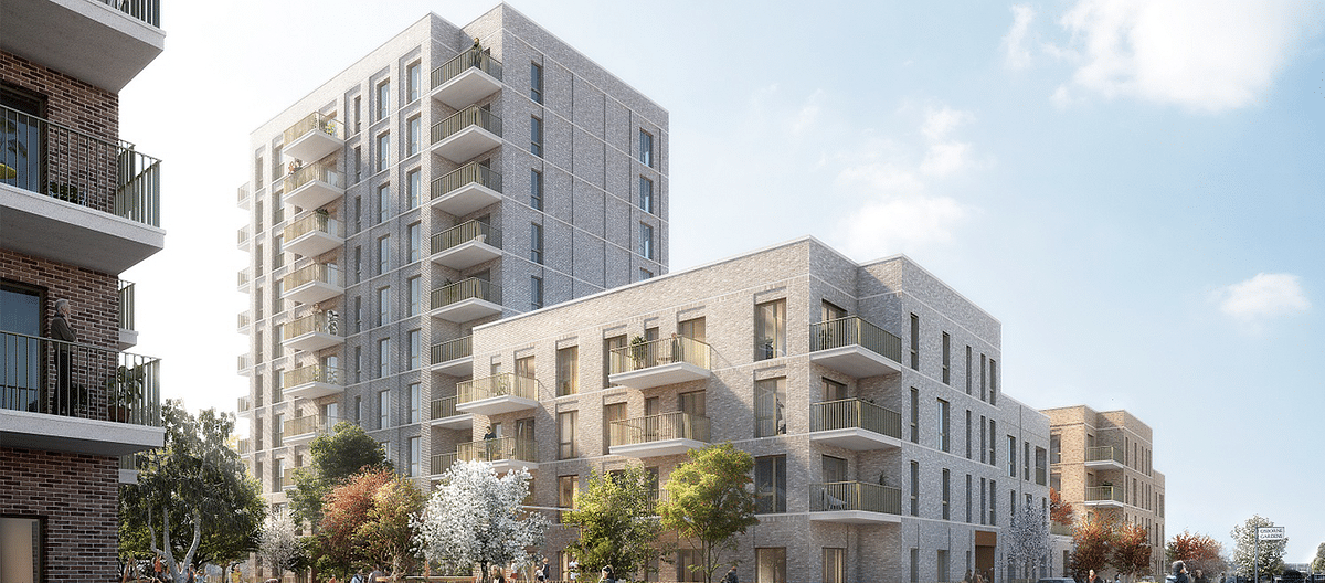 Construction Begins on Regeneration Project in London