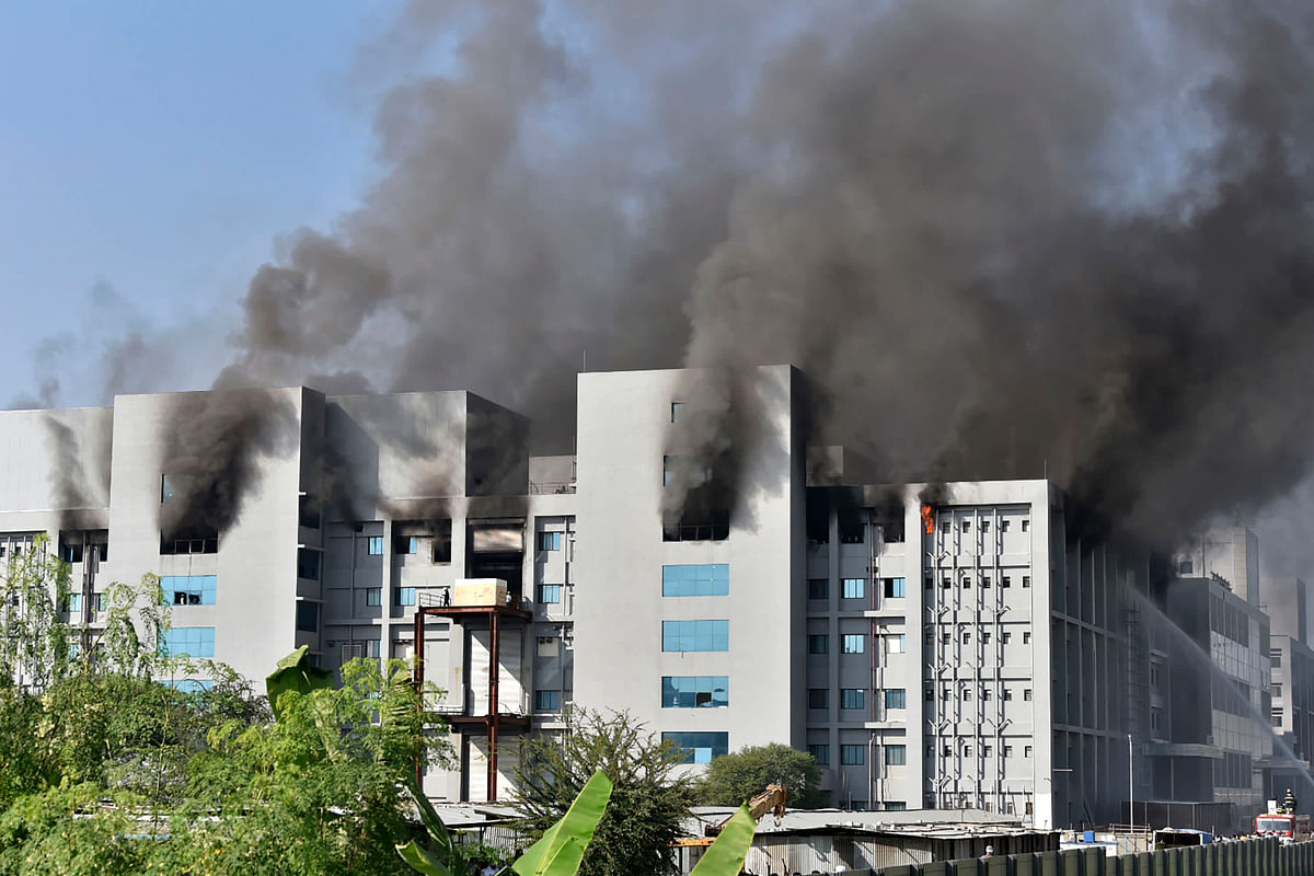 5 Workers Killed in Fire at Serum Institute of India in Pune