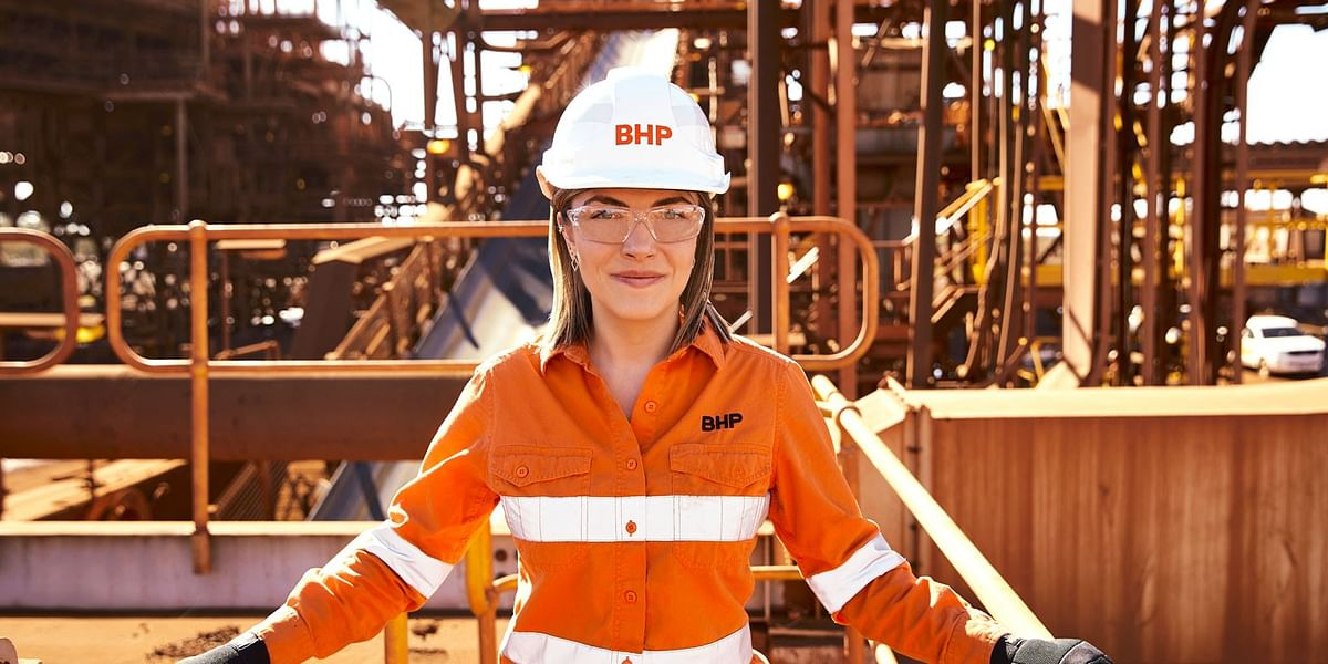 BHP Reports 6% YoY Rise in Iron Ore Production in H1