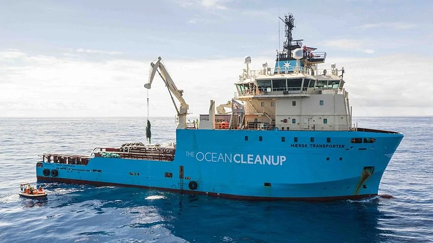 AP Molle Maersk & Ocean Cleanup Extend Relationship