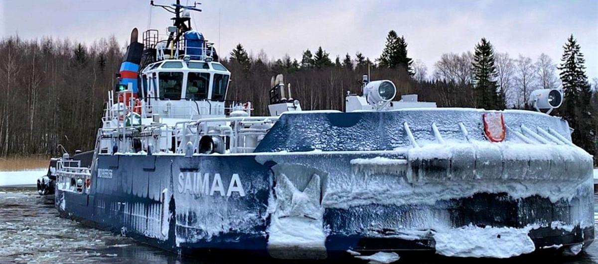 Finnish Icebreaker Vessel Calypso Starts Operations