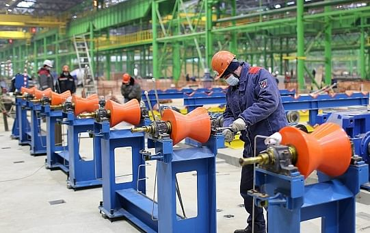 OMK Nizhny Seamless Pipe Project on Track