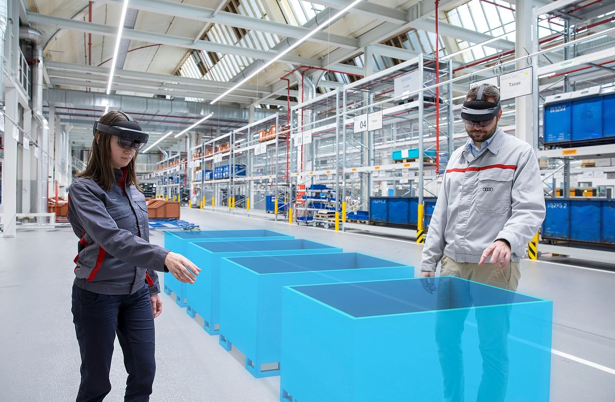AR to Increase Efficiency in Logistics Planning at Audi