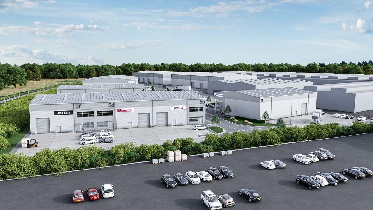 Caddick to Develop Triumph Business Park Industrial Scheme