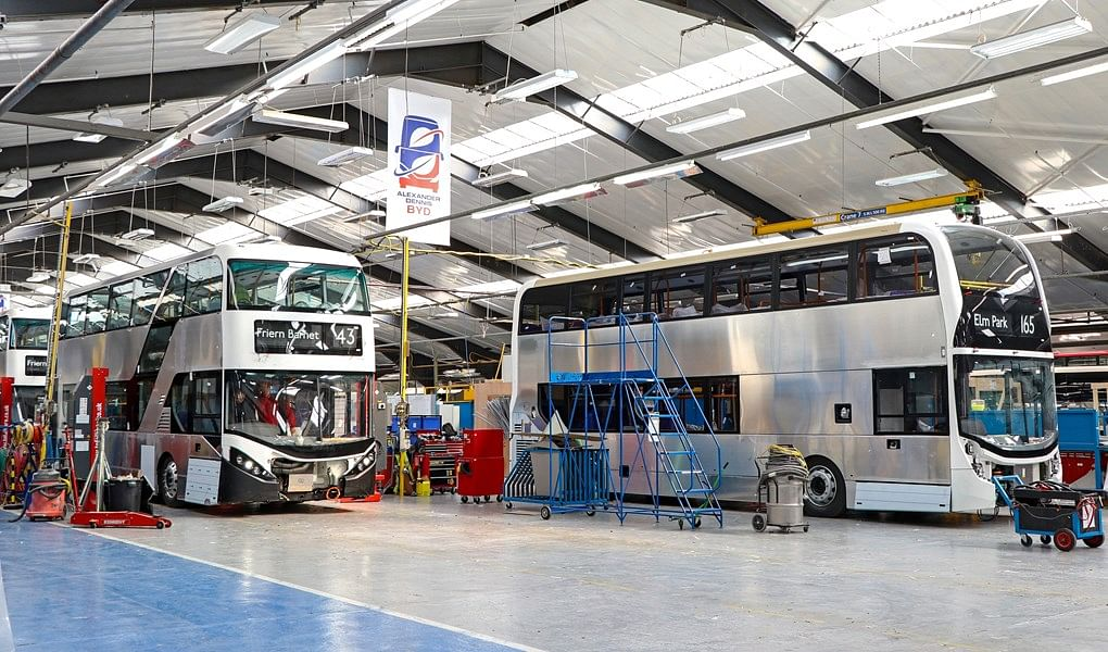 BYD & ADL to Design & Assemble Electric Bus Chassis in UK
