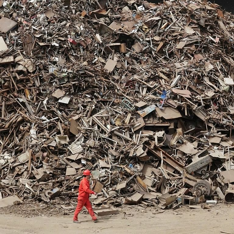 Chinese Steel Scrap Imports Symbolic