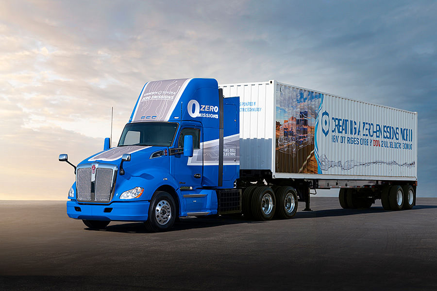 Toyota Fuel Cell Electric Technology for Heavy Duty Trucks