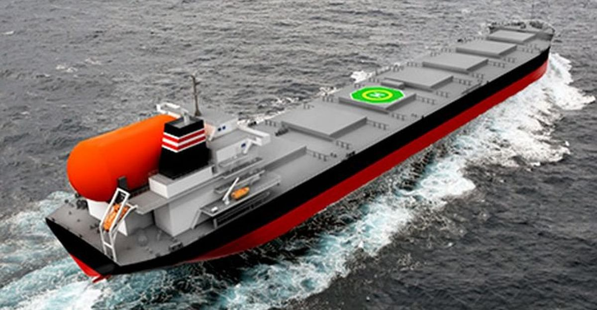 Kyuden Signs Pact for LNG-fueled Large Coal Carrier