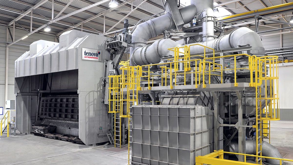 Tenova LOI Thermprocess to Modernize E-MAX Recycling Shop