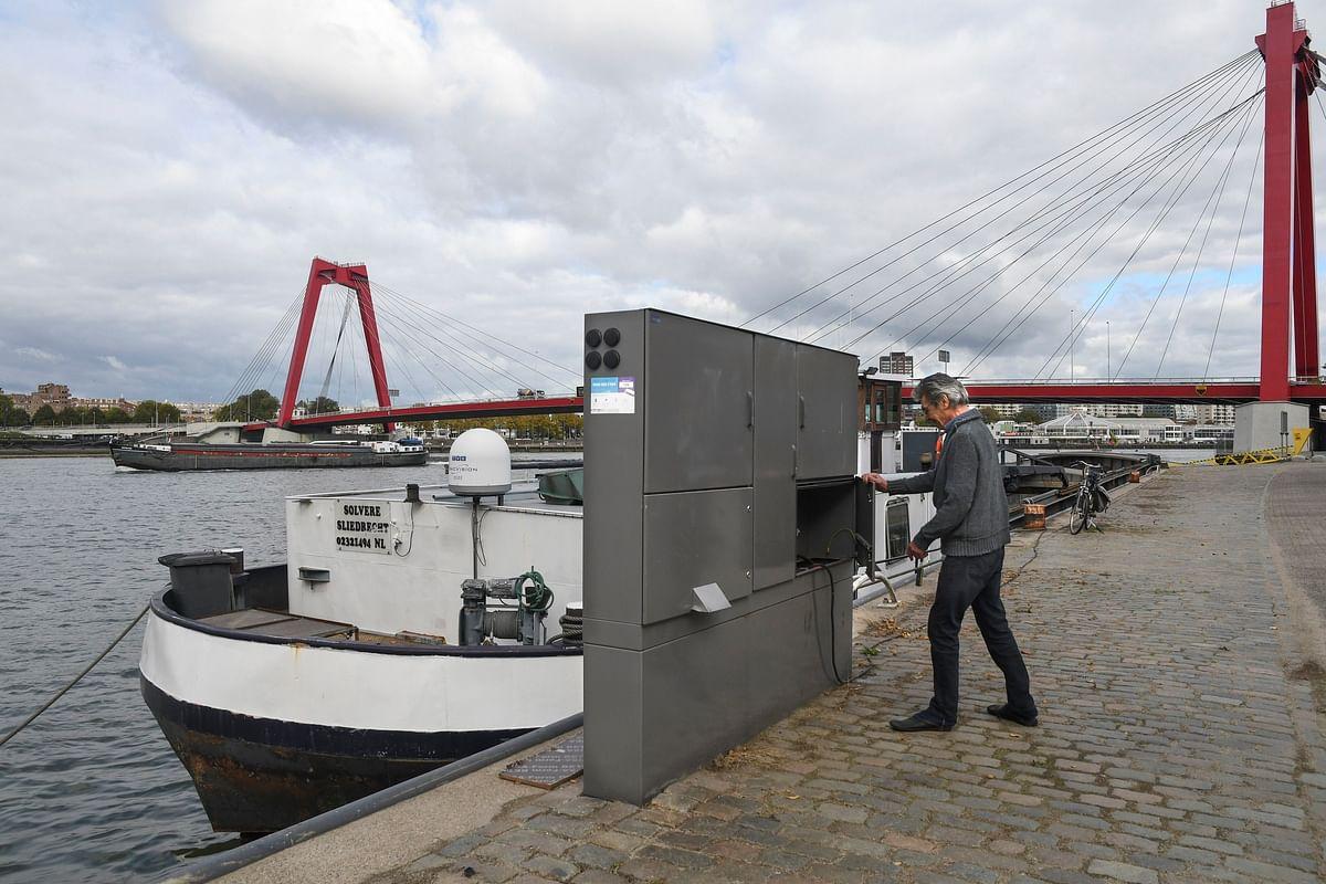 Shore Based Power System
