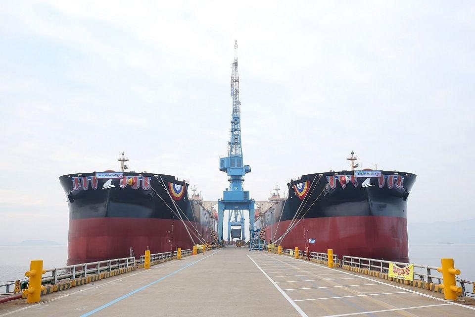 LNG Powered Vessels Set Sail for POSCO