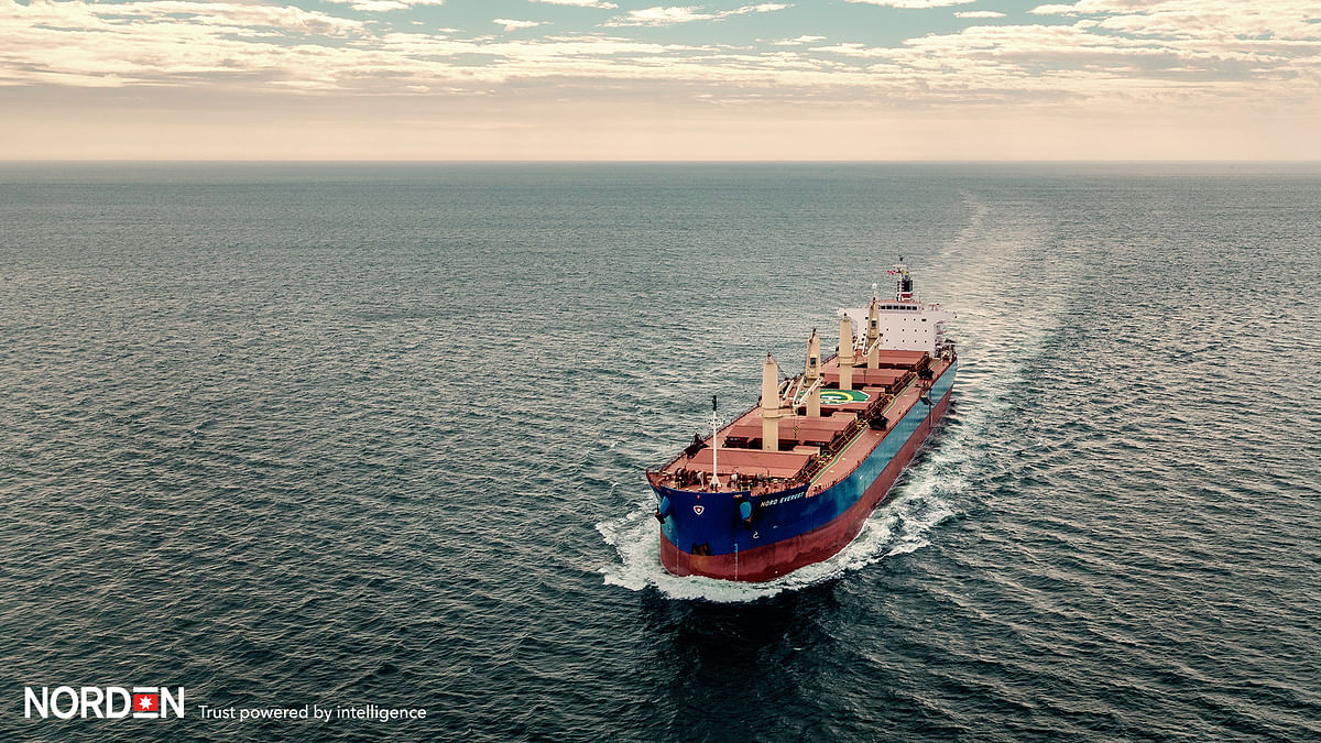 NORDEN Continues to Shift Exposure from Tankers to Dry Cargo