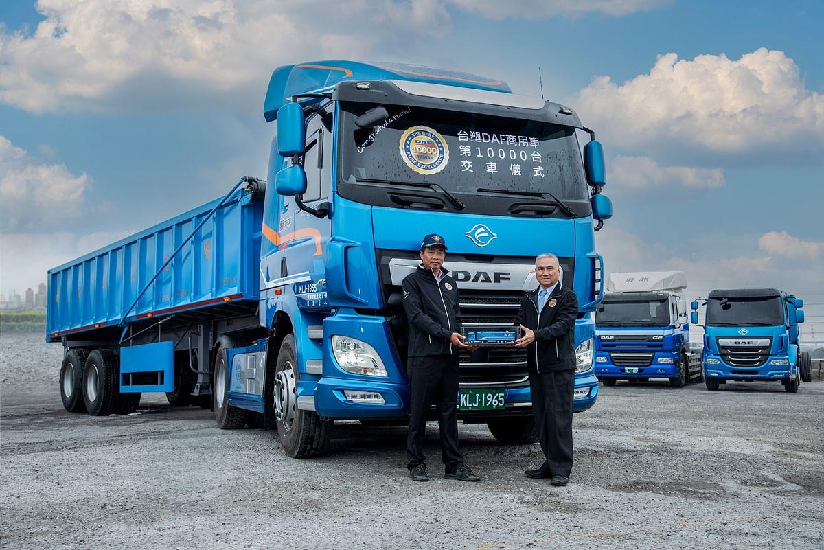 10,000th DAF Truck Built in Taiwan