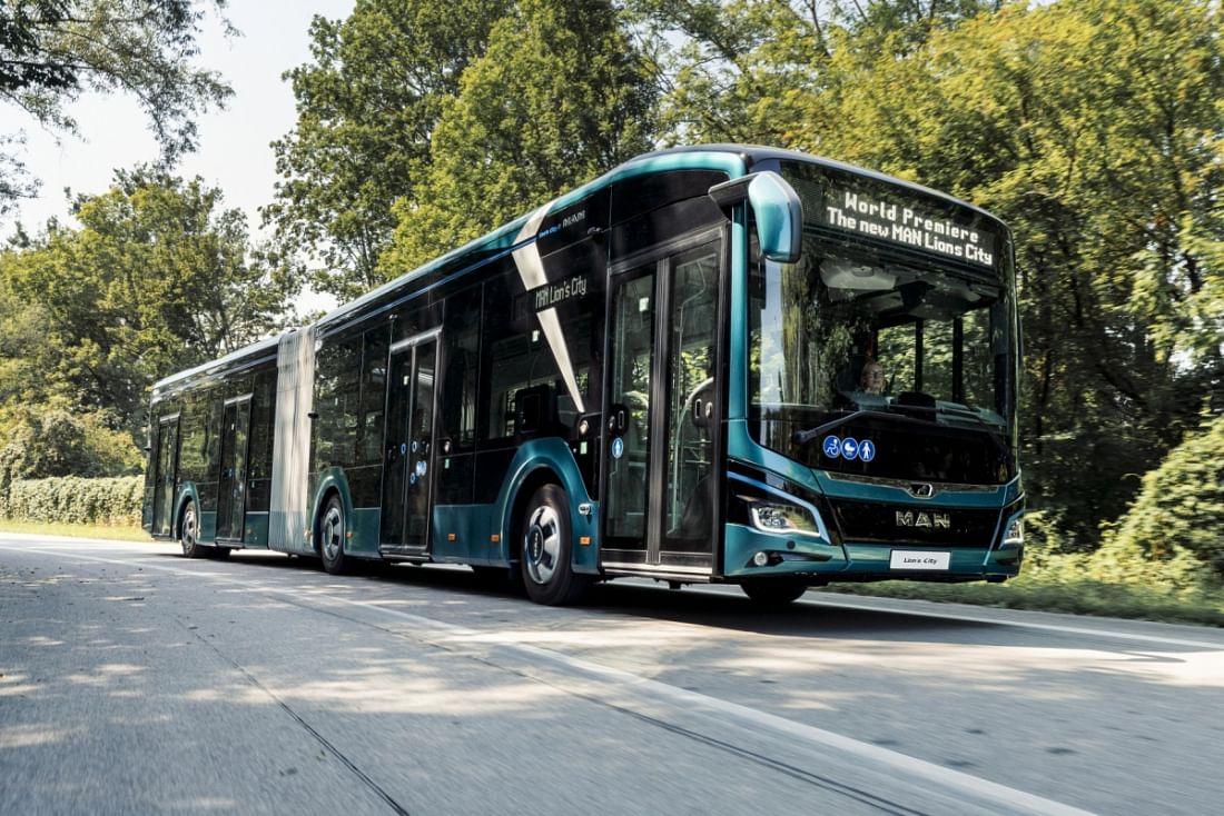 VAG Nuremberg Orders 39 MAN Lion City E Buses