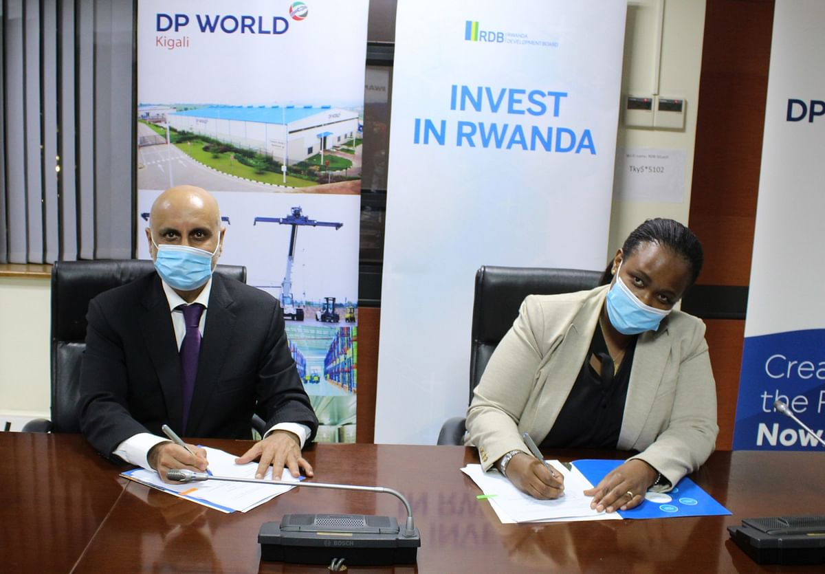 DP World signs MoU with Rwanda to Accelerate International Trade