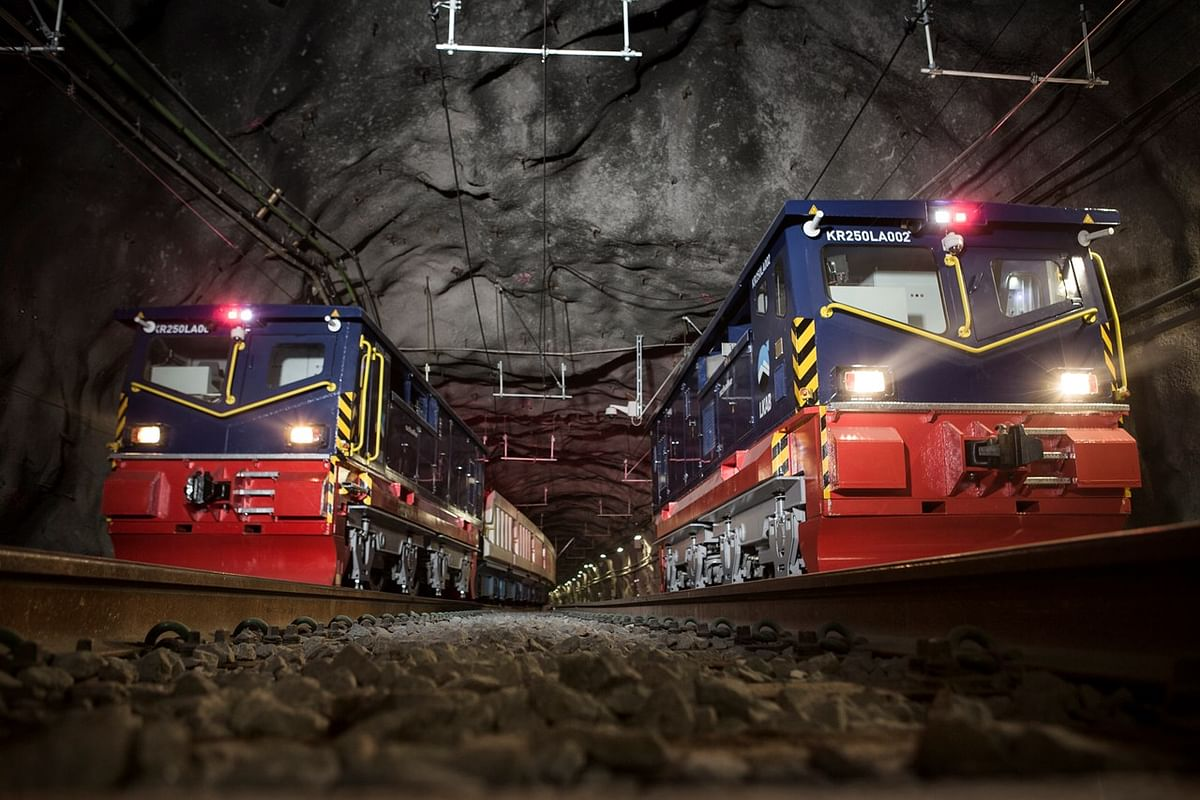LKAB Secures 18 Iron Ore Transportation Locomotives